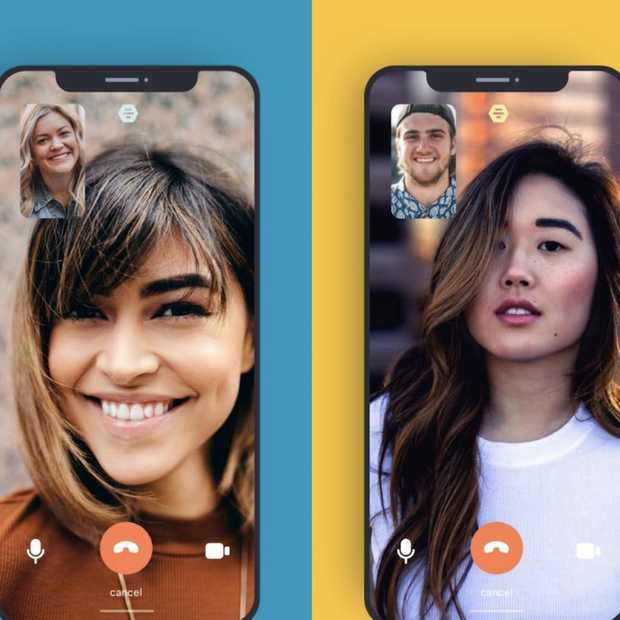 In datingapp Bumble kun je nu videochats starten