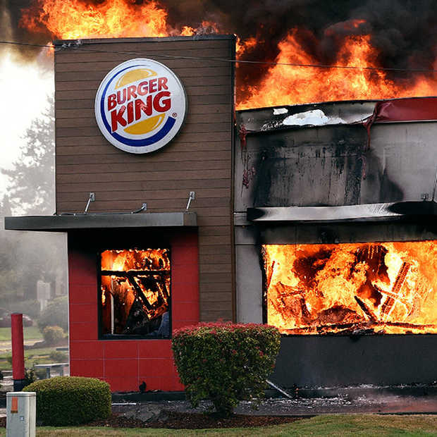 ​Burger King is nergens bang voor