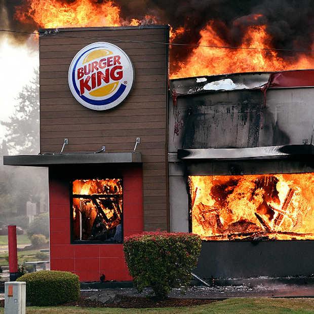 Burger King is nergens bang voor