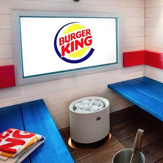Dit Burger King restaurant in Finland heeft een sauna
