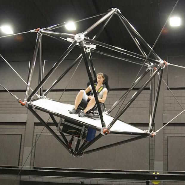 De Cable Robot Simulator biedt de optimale VR-ervaring