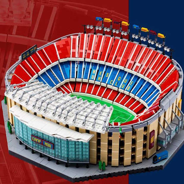 Goed nieuws: ABBA comeback en Camp Nou van LEGO