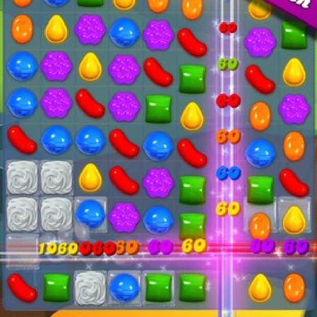 Candy Crush levert gemiddeld 500.000 euro per dag op