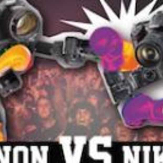 Canon vs Nikon [Infographic]