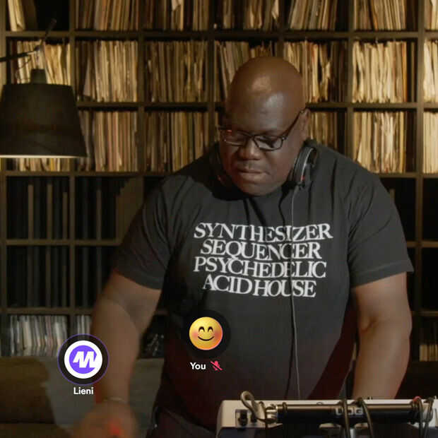 Woov is een nieuwe manier om thuis te feesten met bekende DJ's