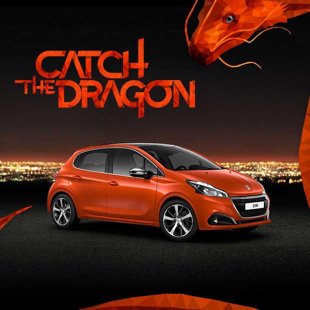 Interactieve Virtual Reality ervaring: Catch the Dragon!