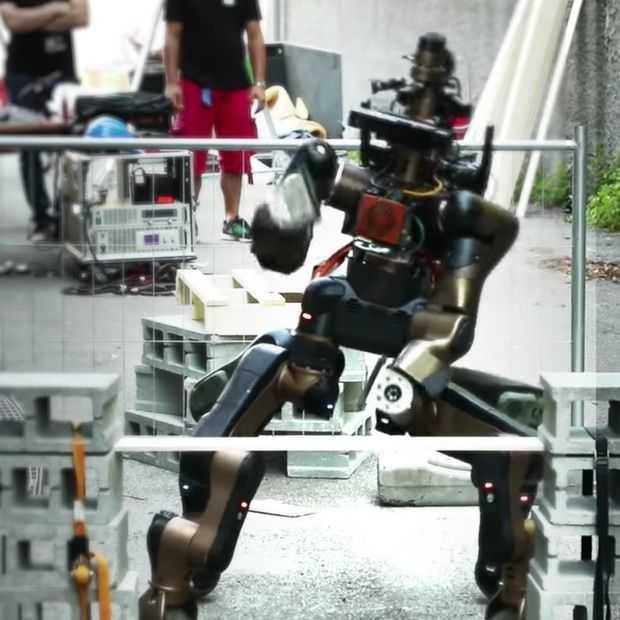 Italiaanse robot Centauro heeft 4 benen, 2 armen en karatemoves