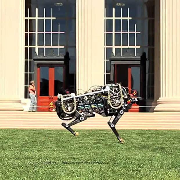 MIT toont eerste beelden van de Robotic Cheetah