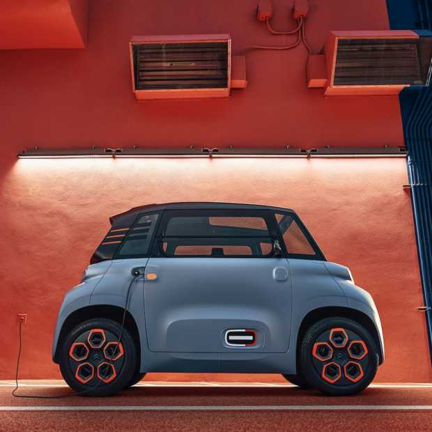 De Citroën Ami is terug maar nu wel elektrisch aangedreven