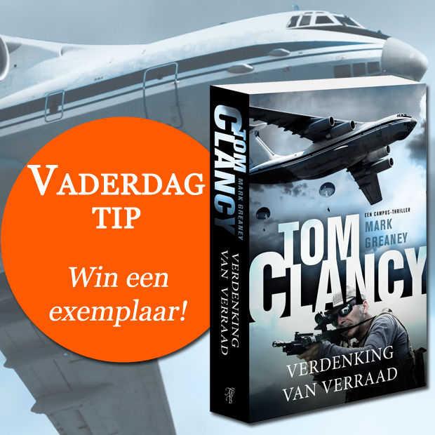 Win: 3x Verdenking van verraad van Tom Clancy