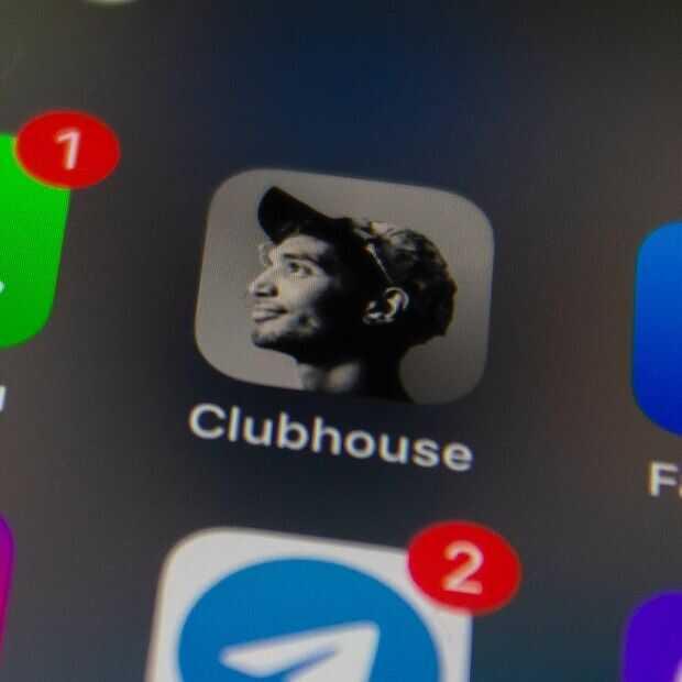 Geen houseparty! Gegevens 1,3 miljoen Clubhouse gebruikers online