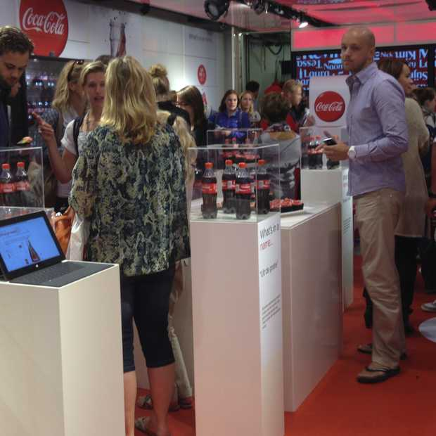 Coca-Cola opent Pop-up store 'Share a Coke' in Amsterdam