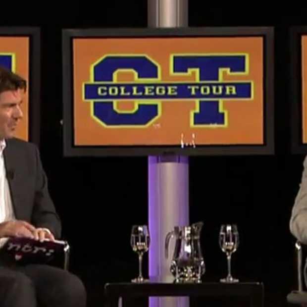 College Tour met Eric Schmidt
