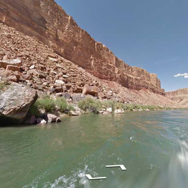Colorado River nu op Google Street View
