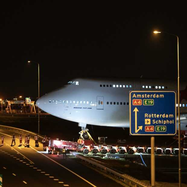 Foto's van megatransport Boeing 747