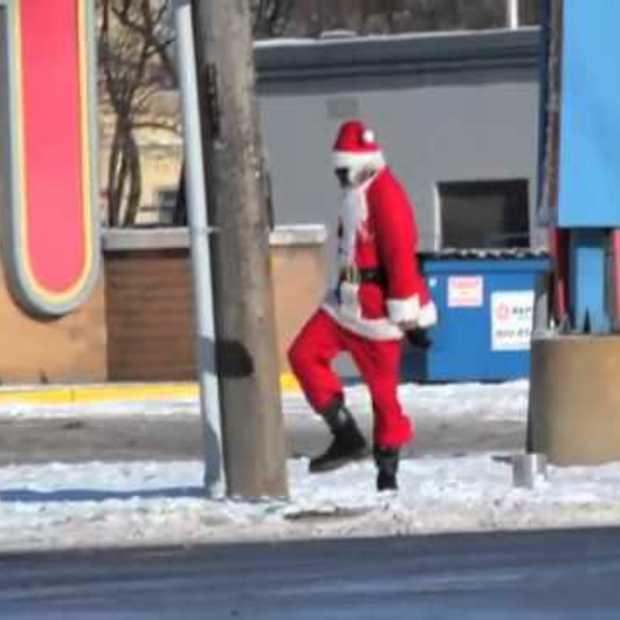 Dansende kerstman