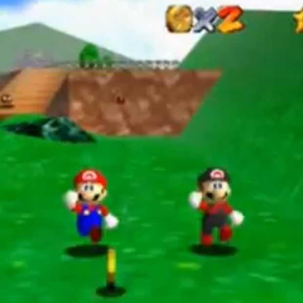 Dankzij hack nu ook Super Mario 64 voor 2 spelers