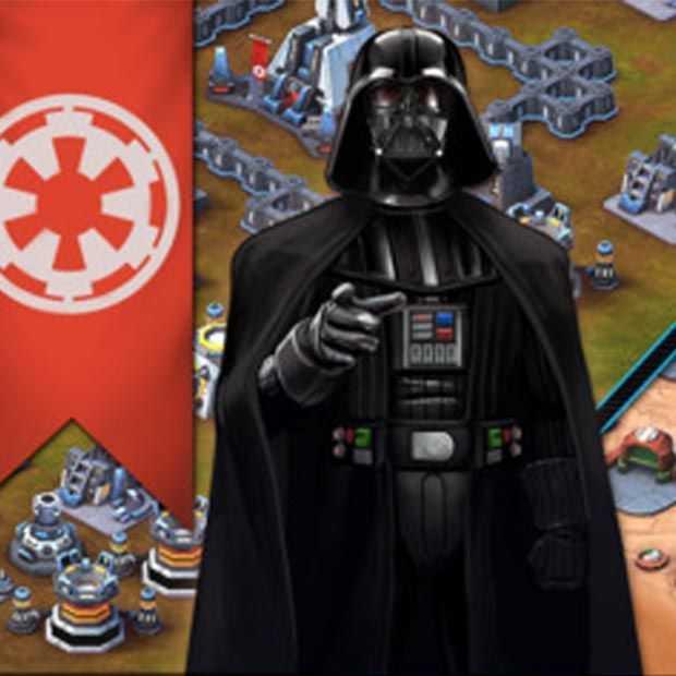 Star Wars: Commander voor iOS