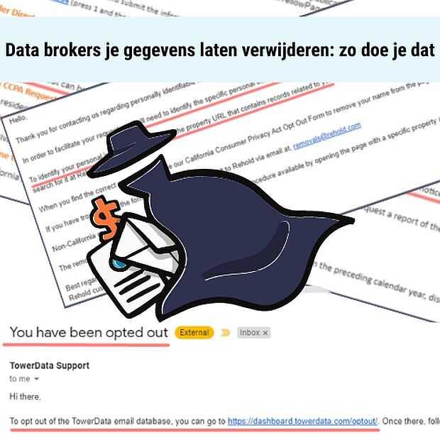 Handleiding voor consumenten tegen datahandelaren