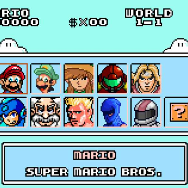 De beste game mashup ooit: Super Mario Bros. Crossover 2.0