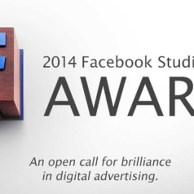 De Facebook studio awards 2014: inschrijvingen zijn geopend