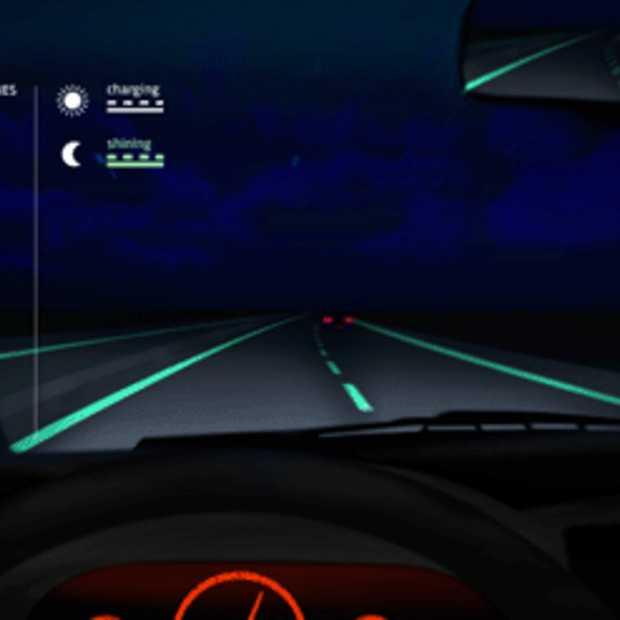 De 'Glow-in-the-Dark' slimme snelweg