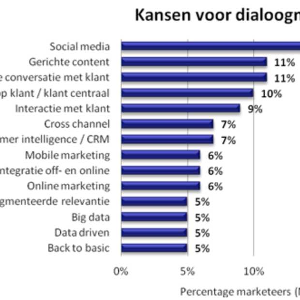 De marketeer in 2013