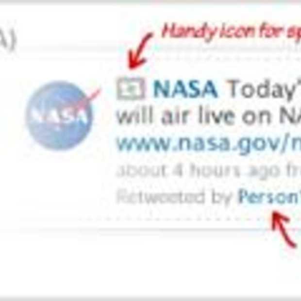 De nieuwe 'Retweets' nu ook via SMS