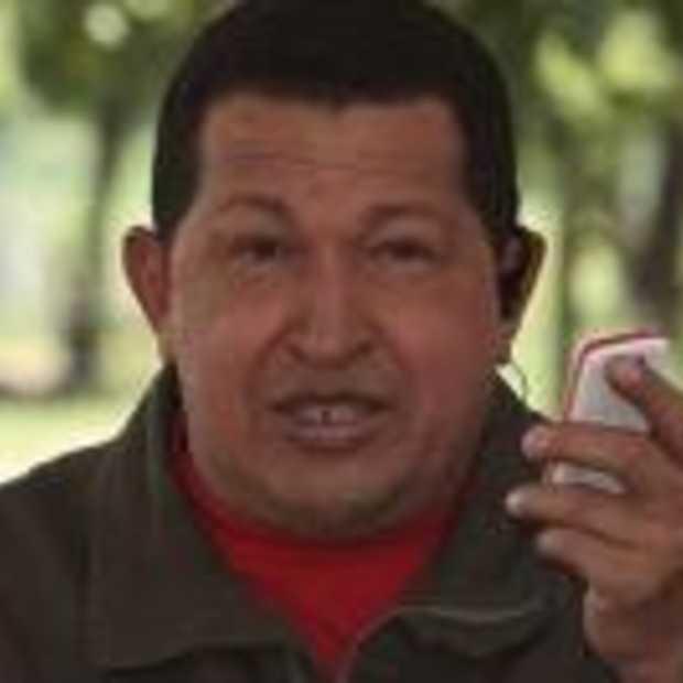 De 'penis' mobiel van Hugo Chavez