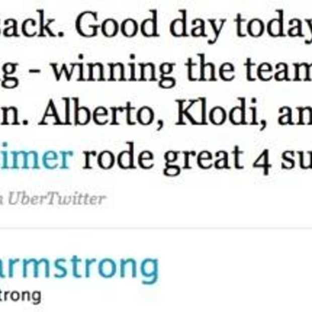 De Tour de France op Twitter
