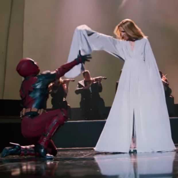WTF? Deadpool maakt muziekvideo met Céline Dion voor nieuwe film