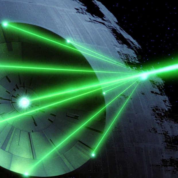 """Wetenschappers gaan een mini """"Death Star"""" bouwen"""