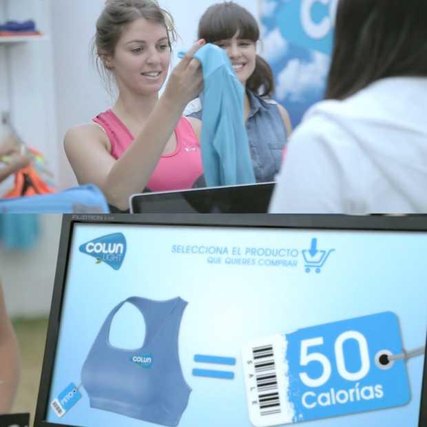 Betalen met calorieën