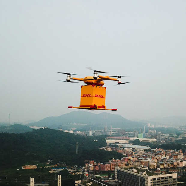 In China gaat luchtpost nu per drone