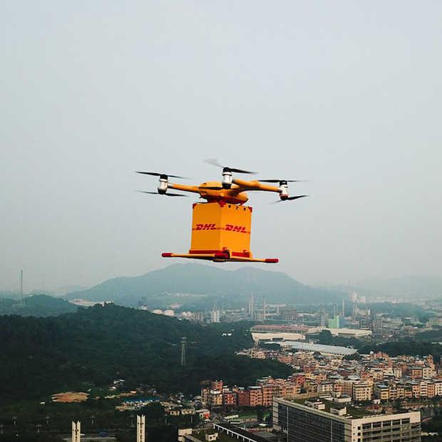 In China gaat luchtpost nu per drone