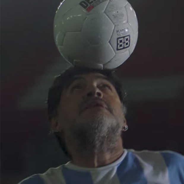 Maradona: remake van een legendarische video
