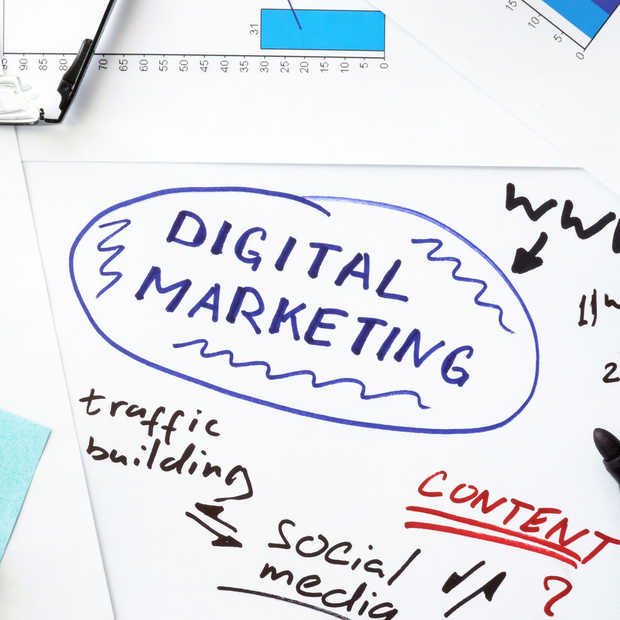 ​Digital marketing steeds prominenter aanwezig in de marketingmix