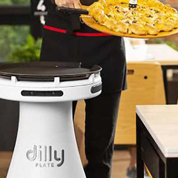 Deze robot werkt bij de Pizzahut in Zuid-Korea!
