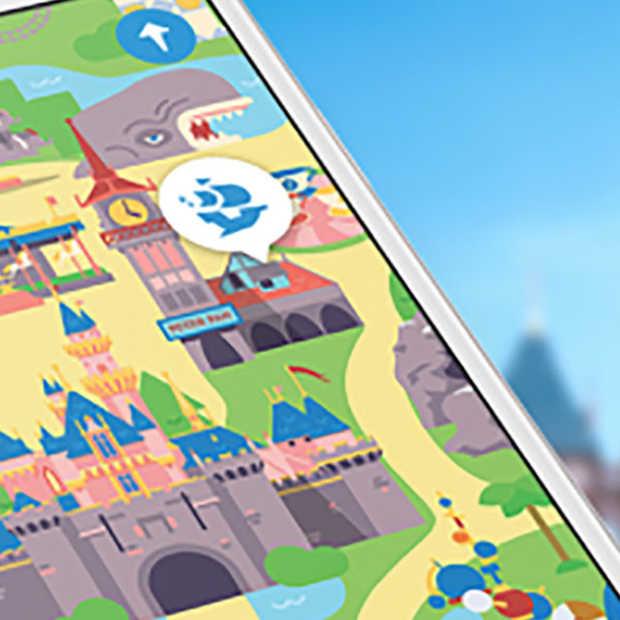 Nieuwe app van Disney vermaakt kinderen in de wachtrij voor de attracties