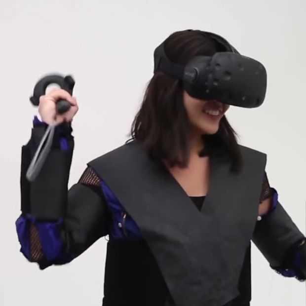 Disney's 'Force Jacket' laat je VR ook echt voelen