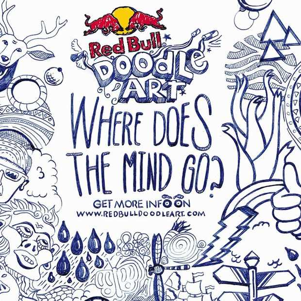 Red Bull Doodle Art competitie