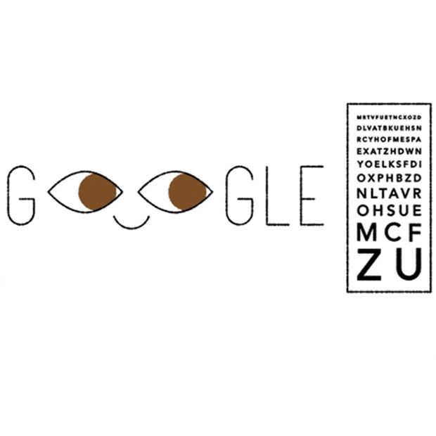 Een Google Doodle voor Ferdinand Monoyer