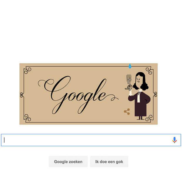 Nederlandse Google Doodle: ode aan Antonie van Leeuwenhoek