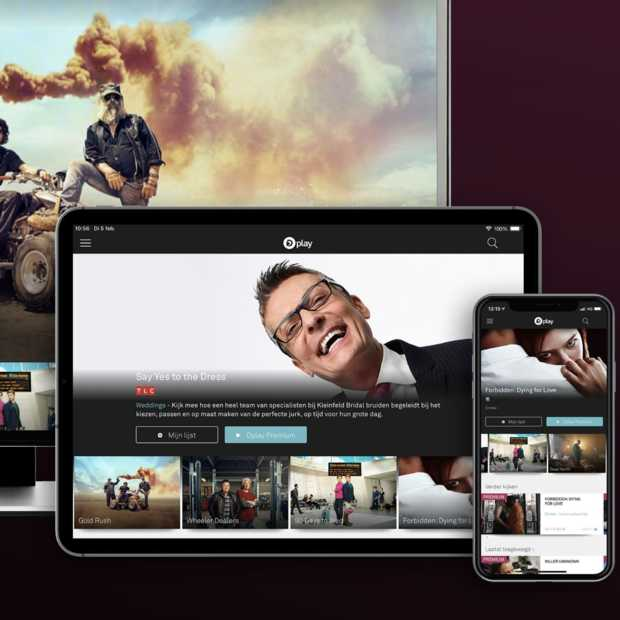 Dplay nieuwe streaming video on demand service van Discovery
