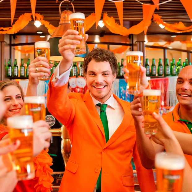 Dream Job is vervuld: ultieme Oranje fan is verkozen tot Chief Oranje Officier