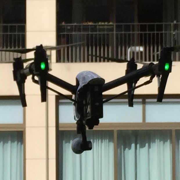 Rijkswaterstaat zet drones in tijdens Concert at Sea
