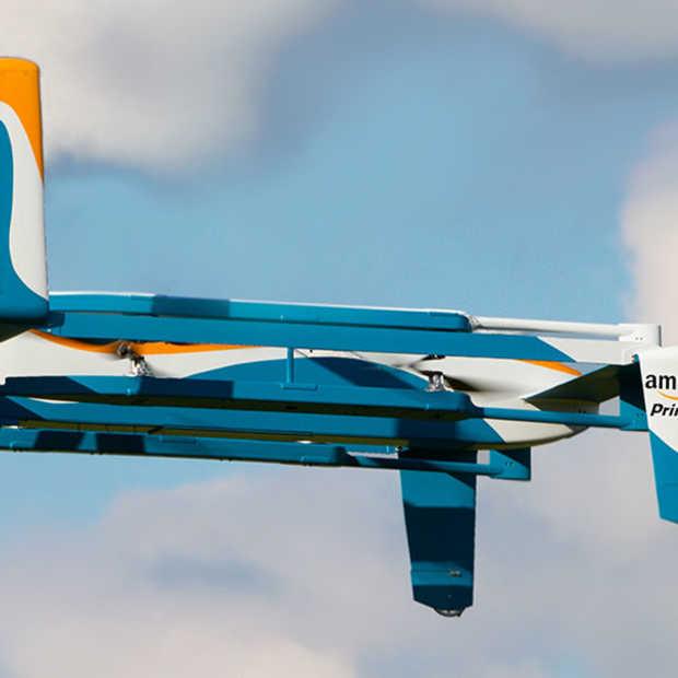 Amazon bedenkt plan om drones te beveiligen