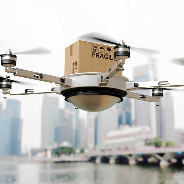 Pakketjes thuisbezorgd krijgen met een drone blijft voorlopig sciencefiction
