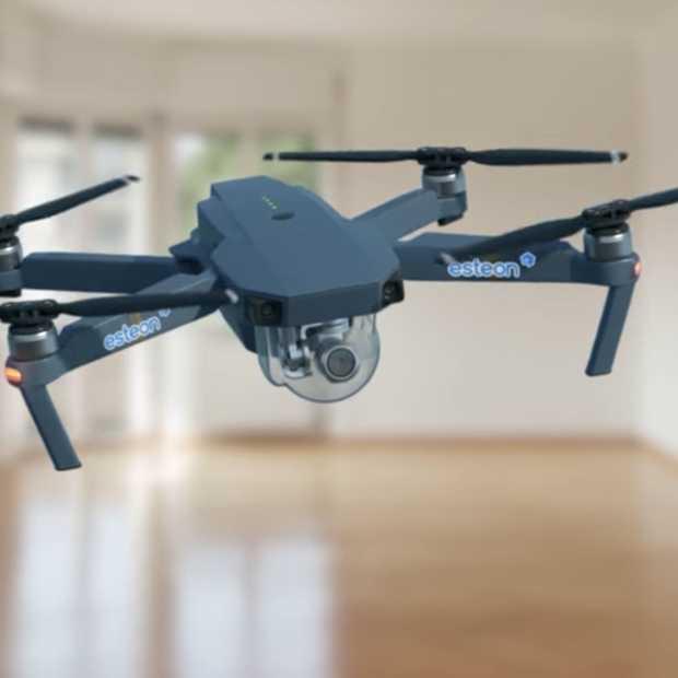 Met een drone naar de bezichtiging van je toekomstige woning