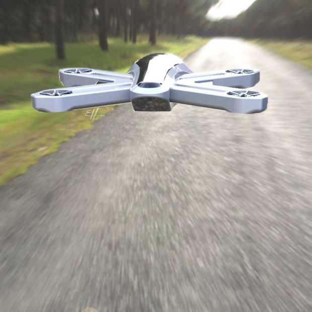 Cool, deze drone zonder propellers!